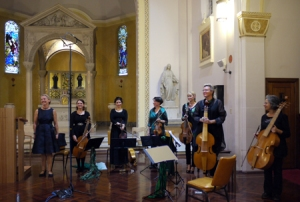 Josie and the Emeralds, Glebe Music Festival, 2012, St Scholastica's Chapel, Glebe