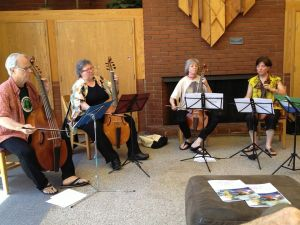 Shade of Presence Past Premiere, Conclave 2013. John Dornenburg, Margriet Tindemans, Wendy Gillespie, Brooke Green
