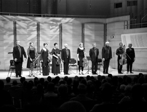 The Hilliard Ensemble and Consort Eclectus, photo by David Durance