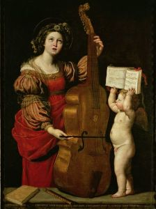 Demenichino, St Cecilia, 1620