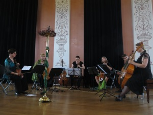 The Emerald City Viols performing Purcell's In Nomine in Six Parts.